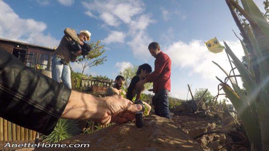 porno shooting in the mountains